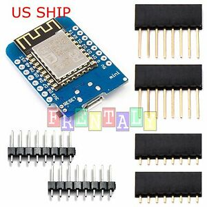 D1-Mini-NodeMCU-and-Arduino-compatible-wifi-lua-ESP8266-ESP-12-Arduino-WeMos