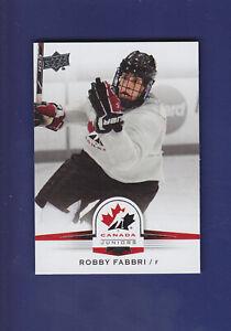 Robby-Fabbri-SP-2014-15-UD-Hockey-Team-Canada-Juniors-133