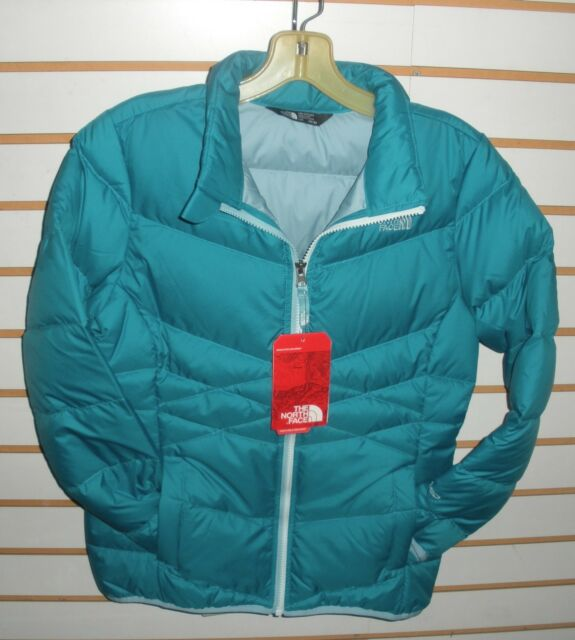 b7f33c45cc North Face Girls Andes Down Jacket A34v2 Algiers Blue Size Large for ...