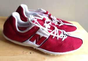59dcd196a1 Details about NEW BALANCE 1006 LDS1006Y LONG DISTANCE SPIKE RUNNING SHOES,  WOMENS US 7, RED