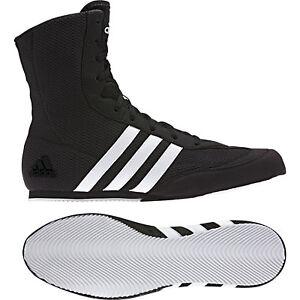 prix compétitif 8c89f b02f9 Détails sur Adidas Box Hog 2 Boxe Bottes Homme Noir Chaussures De Sport  Baskets Tailles 3.5-14.5- afficher le titre d'origine