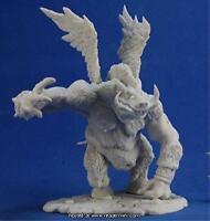 Bones Boar Demon Miniature By Reaper Miniatures Rpr 77308