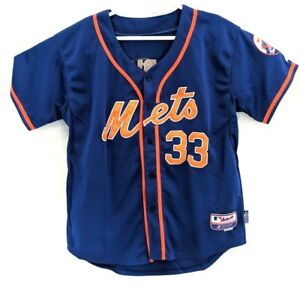 size 40 d4009 539c5 Details about Authentic Majestic Cool Base MLB New York Mets Matt Harvey  Jersey Size 50