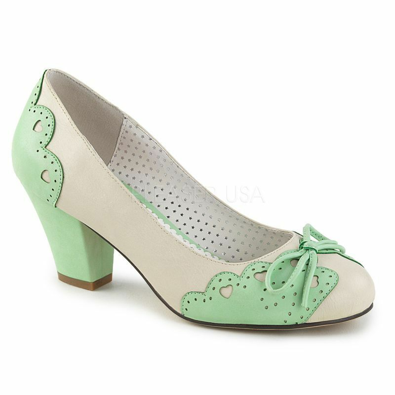 Pin Up Couture Pumps WIGGLE-17 Gr¸n Pin Up Couture Pumps WIGGLE-17 Grün