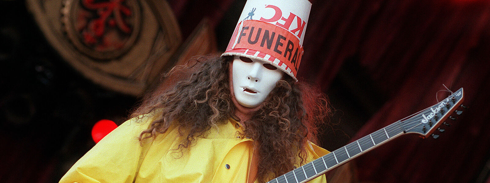 PARKING PASSES ONLY Buckethead