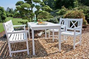 Garden Pleasure Garten Tisch 165x80 Esstisch Eukalyptus Holz Möbel