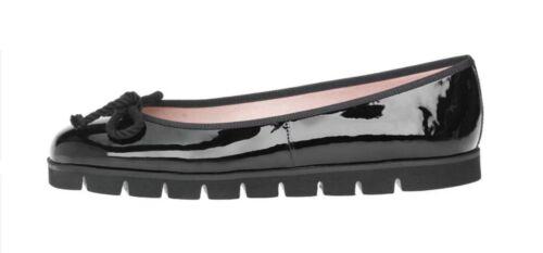 Black Patent Leather UK 5 EU 38 Pretty Ballerinas Rosario Brand New In Box