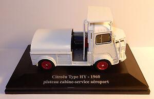 Hy2g 1//43 eligor hatchets citroen type h hy 1960 airport cabin tray