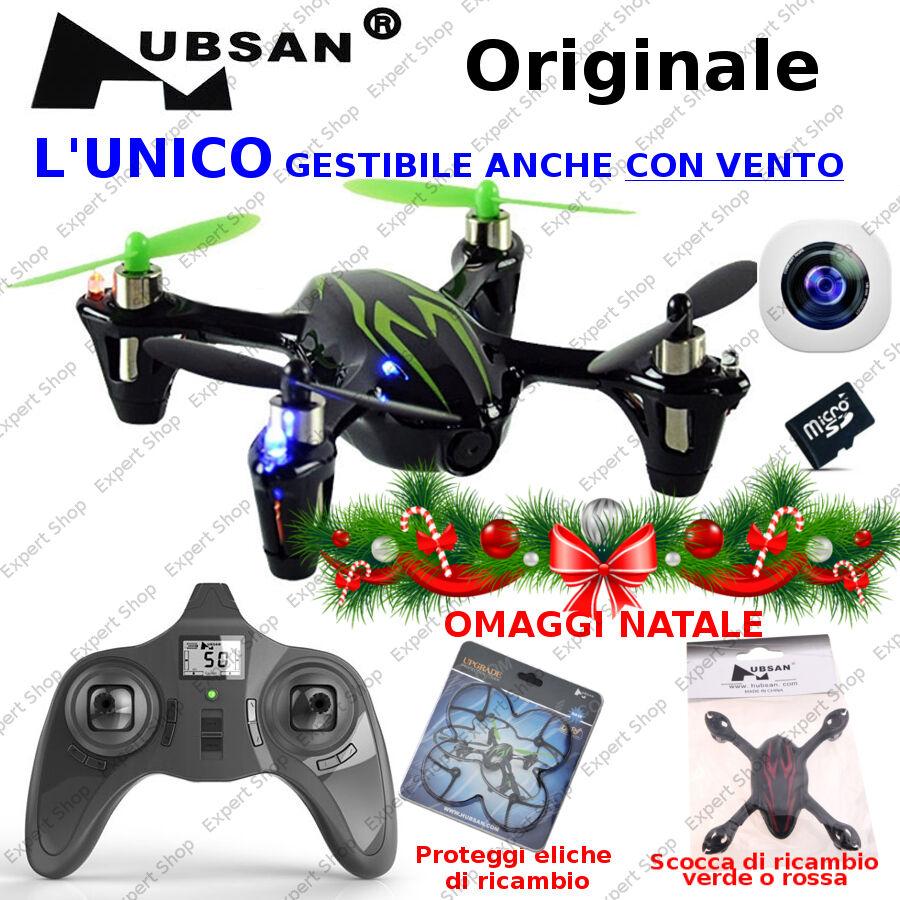 DRONE H107C radiocomando 2,4Ghz mini X4 NATALE Quadricottero ORIGINALE HUBSAN