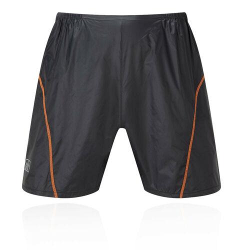 OMM Homme Sonic Shorts Pantalon Pantalon Noir Sport Extérieur Imperméable