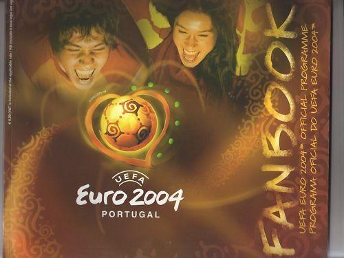 Orig.Komplette PRG       EM   Europameisterschaft PORTUGAL 2004      SEHR SELTEN 8ce9b5