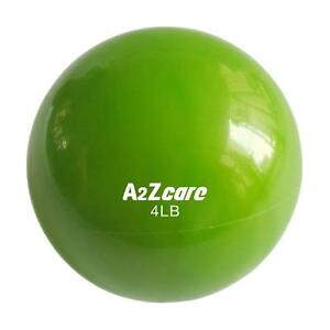 A2ZCare-Toning-Ball-Soft-Weighted-Mini-Medicine-Ball-Single-4-lbs