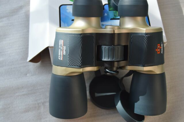 "Day/Night Prism 20x60  Binoculars ""Perrini""  Ruby Lense  M 1224"