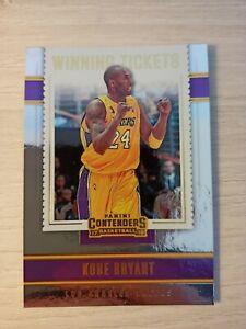 Kobe bryant Lakers NBA Los Angeles Winning Tickets 2018 Panini Contenders