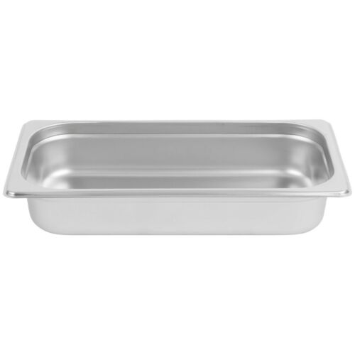 """Stainless Steel Steam Pan 2 1//2/"""" Deep 1//3 Size 12 3//4/"""" x 7/"""""""