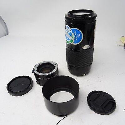 2x 70 'Beer Can' Teleconverter F SLR AF Zoom SLT Lens 4 210mm Sony for Minolta OE1wRE