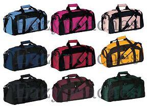 ea6c1a1164f Port   Company Tek Gym Bag Pocket Duffle Workout Training Bag Sport ...