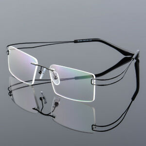 26fa66ce0cf New Men s Rimless Reading Glasses +0.00 to +4.00 Readers Flexible β ...