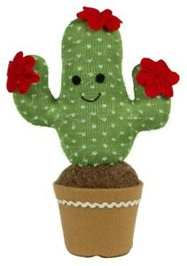 New Carved Wooden Happy Cactus Sass and Belle Pen
