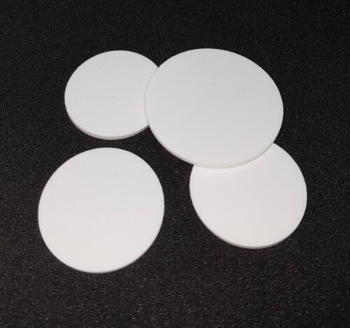 Discs 2mm thick 4 x Bespoke Silicone Rubber Disc
