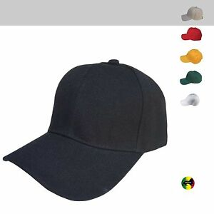 Men Women Polo Golf Style Plain Blank Ball Baseball Cap Caps Hat ... f111633d48f5