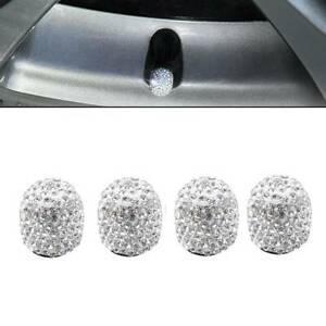 4pcs-Universal-Diamond-Bling-Tire-Air-Valve-Stem-Cap-For-Car-Truck-Bike-Wheel