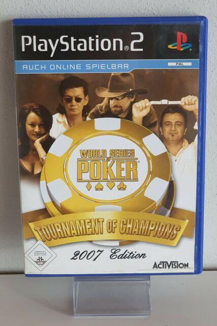 PLAYSTATION 2 Ps 2 Championnats Du Monde de Poker - Tournament Of des Champions