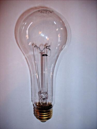 10k hour 200watt Clear Rough Service Incandescent Bulbs 6