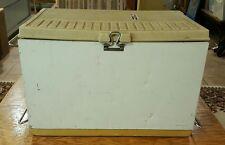 Coleman Snow-Lite 3-Way Cooler Complete Vintage Dated 1977