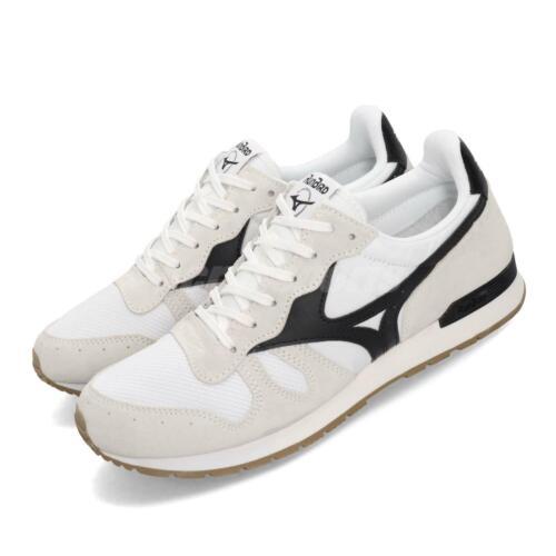 Mizuno ML87 Runbird White Black Gum Men Running Casual Shoes Sneaker D1GA1905-01