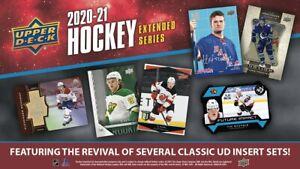2020-21 Upper Deck Extended TEAM SET (No Young Guns) Vegas Golden Knights(6 Card