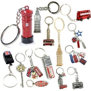 British Uk England London Keychain Keyrings Souvenir Gift Collectables Ebay