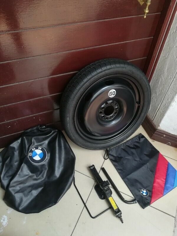 BMW M235i and M240i 18 inch Space Saving Spare Wheel kit with Bag Cover and Tools