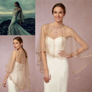 Champagne-Lace-Wedding-Wraps-Jackets-Crystals-Luxury-Hi-Low-Bride-Boleros-Custom