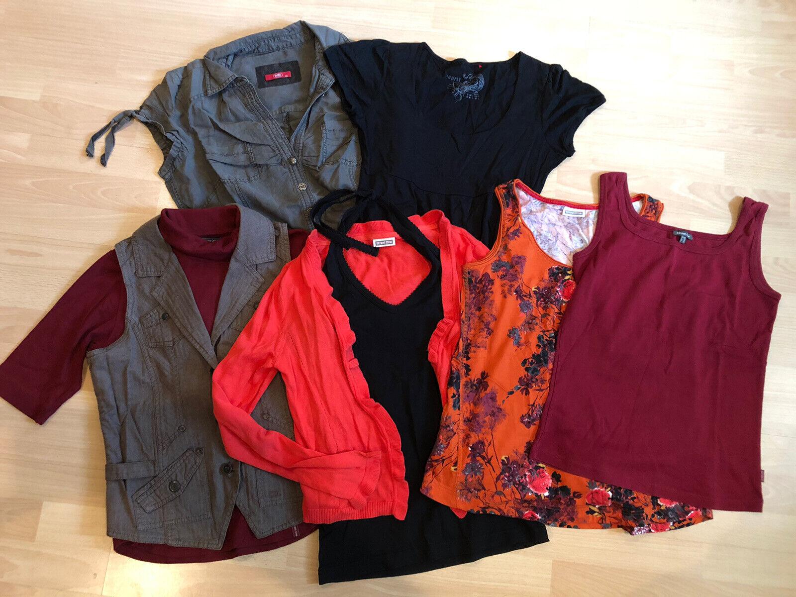 SET Street One, Esprit Gr. 38 M Shirt Kleid Top 8 Teile