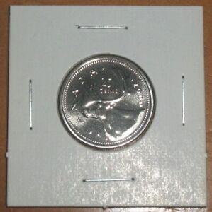 2000 Canada Proof-Like Caribou 25 Cents