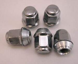 5-New-Chrysler-Town-Country-New-Yorker-Factory-OEM-Stainless-Lug-Nuts-12x1-5