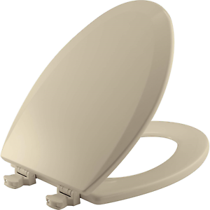 Awe Inspiring Details About Bemis 1500Ec 006 Wood Elongated Toilet Seat With Easy Clean Change Hinge Bone Gmtry Best Dining Table And Chair Ideas Images Gmtryco