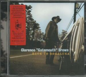 CLARENCE-Gatemouth-BROWN-brown-Back-to-Bogalusa-2001-CD