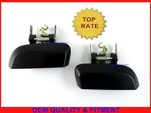 Smooth black Rear Left Right Outer Tailgate Handle For Nissan Pathfinder R51