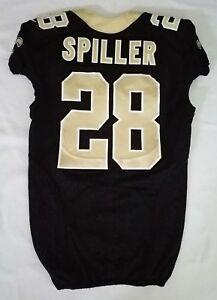 28-C-J-Spiller-of-New-Orleans-Saints-NFL-Locker-Room-Game-Issued-Jersey