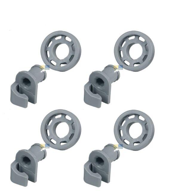 Cage Rollers Bosch Siemens Top Basket 4 Pieces 424717 00424717 066321 00066321