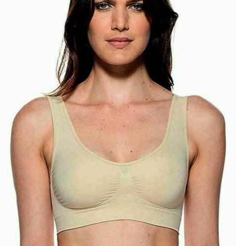Reggiseno donna Body Effect Bra in microfibra senza cuciture e ganci art 110577