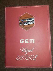GEM-Wizard-327-327L-Original-Owners-Manual-1970-039-s