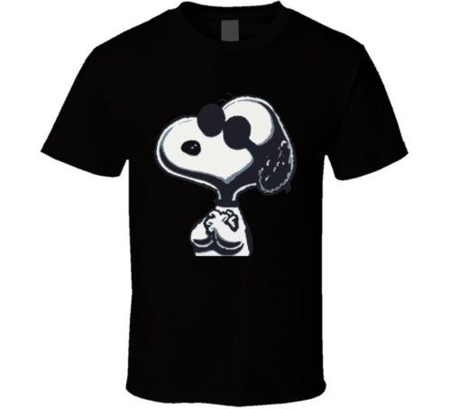 Snoopy Peanuts Cool Dog Comic T Shirt