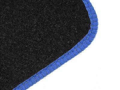98-04 Tailored Fit Black Carpet Floor Mats 4pc Colour Trim for Porsche 911