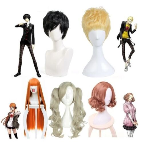 Anime Persona 5 Futaba Sakura Cosplay Wigs Haru Okumura Kurusu Akira Joker Wig