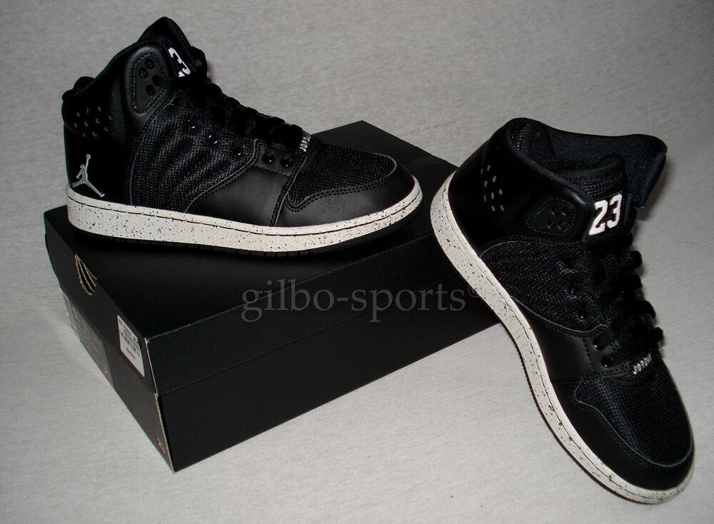 Nike Jordan 1 Flight 4 Premium BG Black Noir Gr. 36 36,5 38 39 828237 020 Retro
