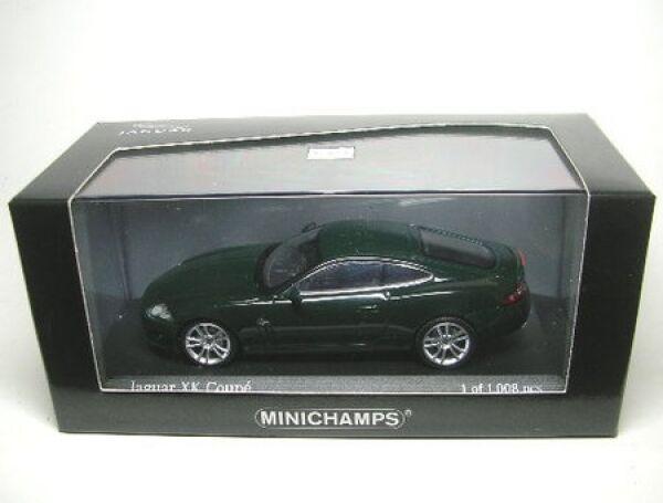 Jaguar xk coupé (vert) 2005