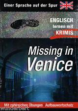 INGLÉS aprender con HISTORIAS DE CRÍMENES MISSING en VENICE Emilia RAMSAY tb